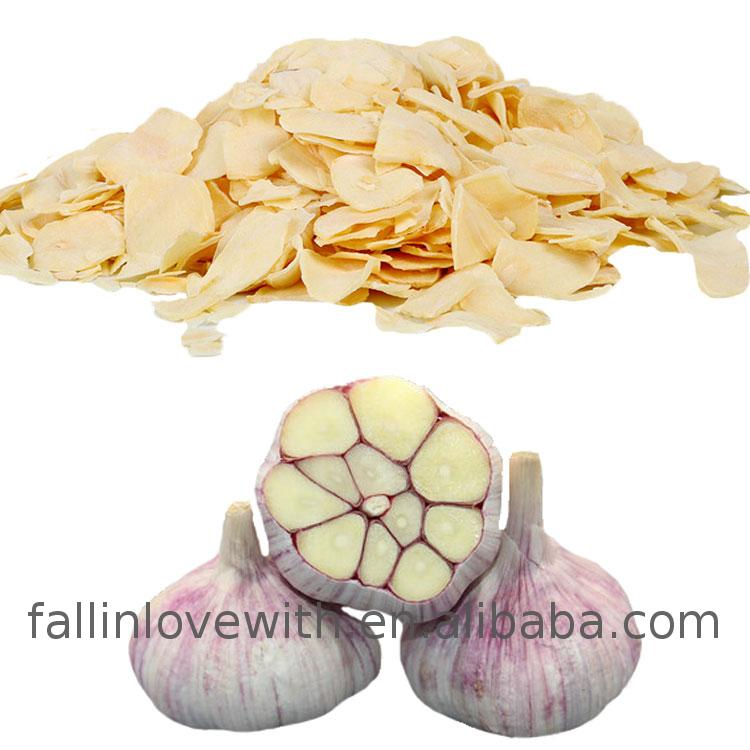 Low price of Dehydrated vegetables freeze dried garlic with dual strap