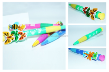 New design modol promotional plastic ballpoint reading pen for kids