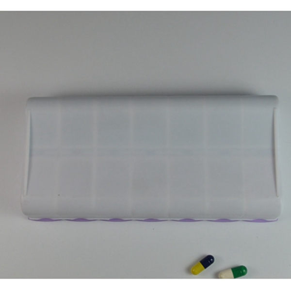 PP 7 days plastic weekly pill box,7 day pill box