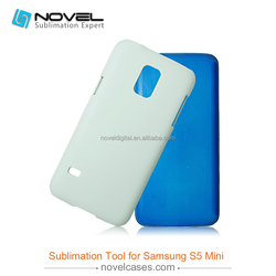 3D sublimation blank phone cover for Samsung S5 Mini, blank phone case