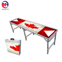 6.5ft 2 Sections Custom Beer Pong Folding Table
