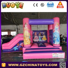 jumping castle Princess combo inflatable castle slide combo bouncer