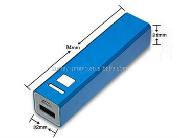 2600mah Square Power Bank Removable Battery