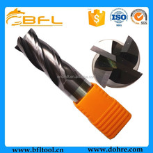 BFL - 4 Flutes Tungsten Carbide Square End Mill/CNC Milling Cutter(OEM Service Available)