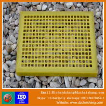 Factory outlet cheap durable polyurethane dewatering sieve , vibrating screen mesh