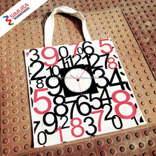 100% Cotton Canvas Fabric Tote Bag from Bangladesh