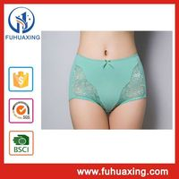 Pure cotton lace high waist waterproof menstrual beautiful ladies panties