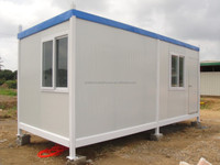 comfortable living 20ft container house