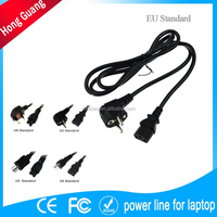 Focus on 230 volt power cord with local plug