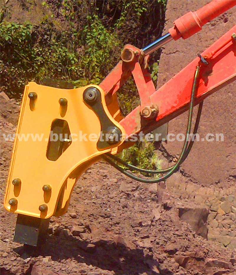RanSun Amazing attachments jack hammer side type for 4-7t excavator