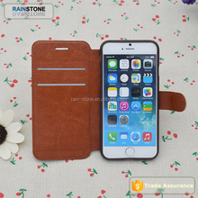 Retro Vintage Fashion Book Style Wallet Case for iPhone 6 6S Leather Case