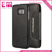 For Galaxy S7 S7 Edge Mobile phone wallet 2IN1Leather Case for Samsung Galaxy S5 S6 S6 Edge Plus S7 S7 Edge