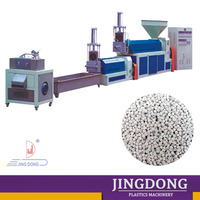 used film / container / bottle plastic recycling granules extruder machine