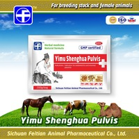 Chinese herbal medicine veterinary postpartum leonuri herb Yimu Shenghua Pulvis