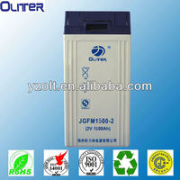 2v 1500ah solar power storage battery