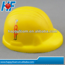 PU Helmet Stress Ball, Nontoxic and Anti-stress Shape, Ideal for Gift