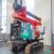 20% discount New trade day electric type crawler guardrail piling machine guardrail post driver fpr sale