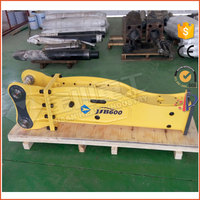 CE approved silence type hydraulic demolition breaker hammer for construction