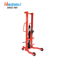 High Quality 350kg Handing Oil Drum Lifter with Hydraulic Pump, no tilting drum lifter