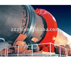 Rotary kiln for calcinate of clay