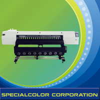 Dye sublimation flag printer advertisement machine 1.8m GD1800-E2