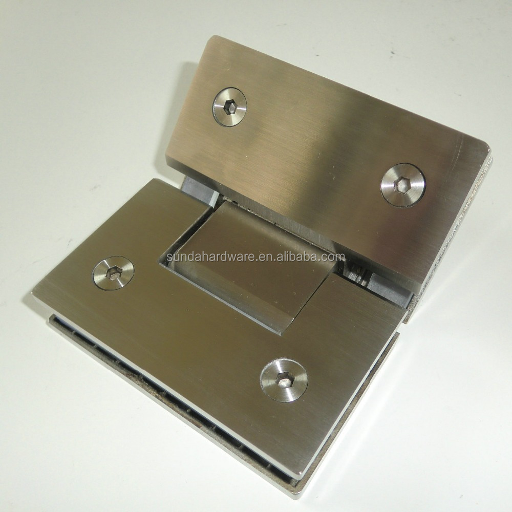 Stainless Steel Glass Bathroom Door Hinge For Shower Screen