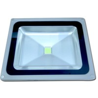 50 Watts Power LED Flood Light Ideal for Outdoor Lighting Such As Parking Lot Lighting, Construction Building