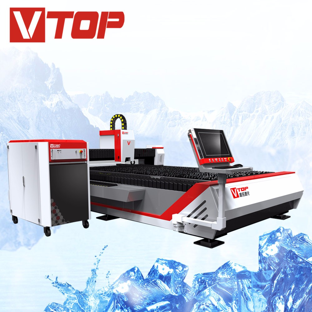 Professional supplier Low Noise stainless steel/carbon steel cnc fiber laser cutting machine