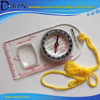 Multifunctional Hiking Marine Rope ruler compass