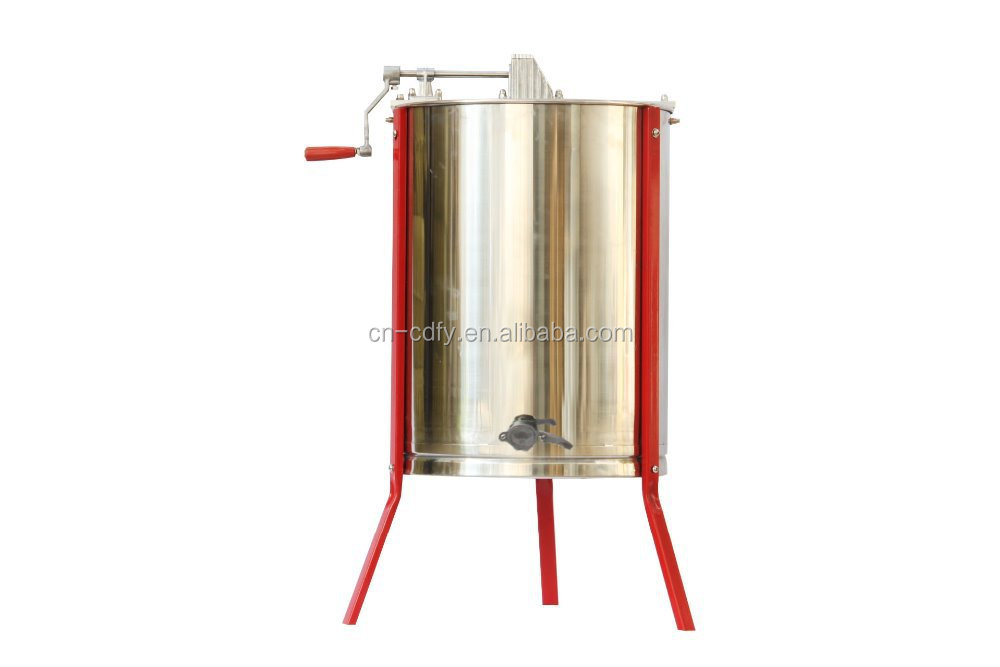 Beekeeping 3 Frames manual Stainless Steel Honey Extractor