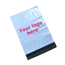 Cheap own logo design colorful poly plastic packaging degradable custom printing mailing bags wholesale