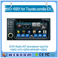 Promotional car audio system for Toyota corolla EX entertainment support original car bose sound system android gps navigation