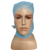 Disposable medical PP/surgeon cap/non woven Astronaut hood