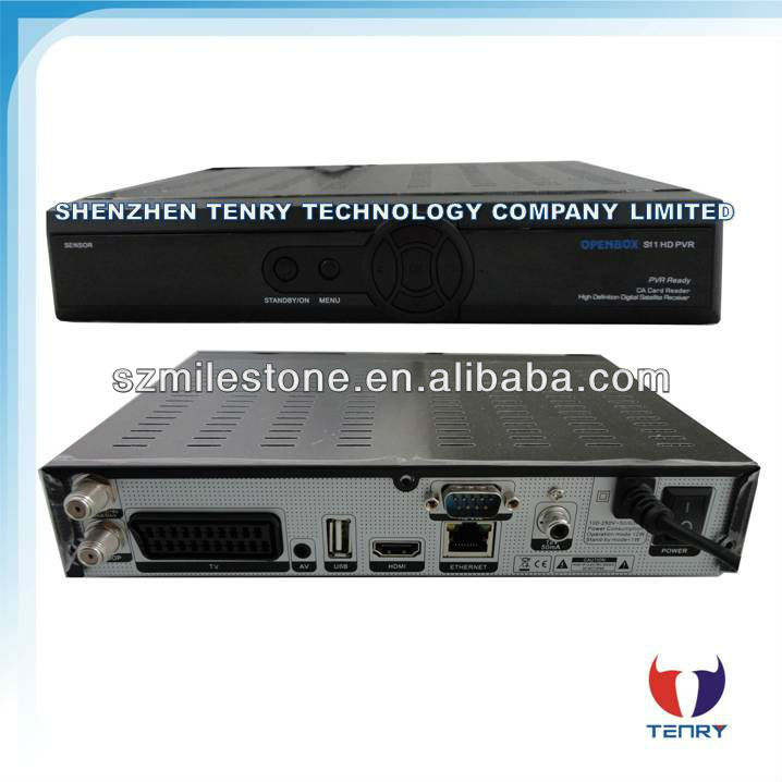 New Openbox S11 HD PVR satellite receiver DVB-S2 MPEG4 Ali3602 with CCCAM working worldwide