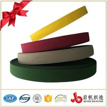 Newest fashion design knitted elastic tape webbing for bra and underwear