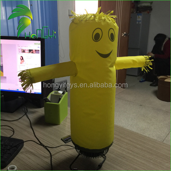 Most Popular Newest Decoration USB Blower Inflatable Desktop Air Dancer