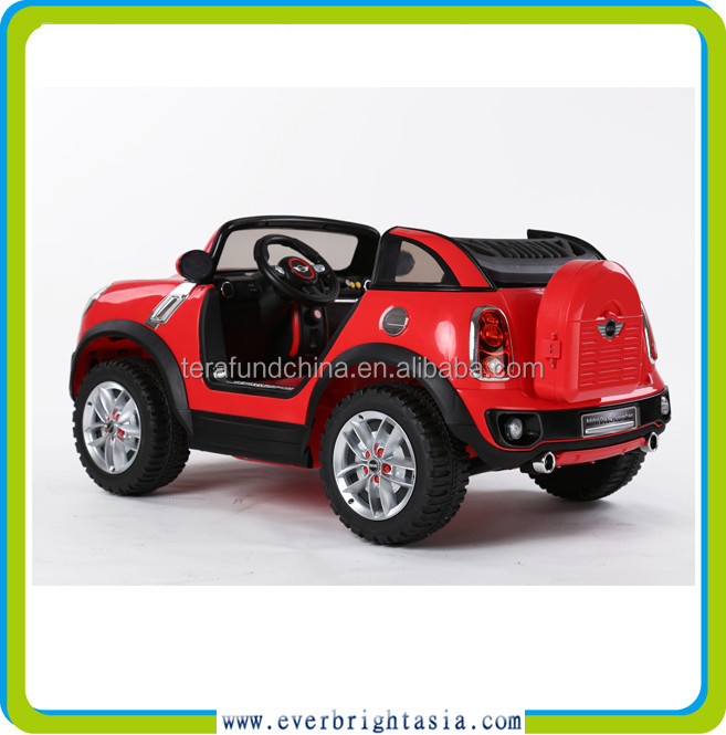 2015 new licensed ride on car with 12V battery and can seat two children