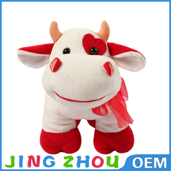 custom anime funny plush stuffed dobby cow doll