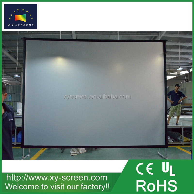 XYSCREEN Portable Movie Theater Projector Screen 4:3 format 120 inch rear projection screen