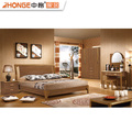 Hot Sale Cheap Price Simple New Design New Model Beautiful Wood Bedroom Furniture Set