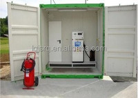 Top quality and easy operating container portable kerosene/diesel/petrol station with very low price