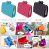large capacity stationery pen bag for student silicone pen pouch