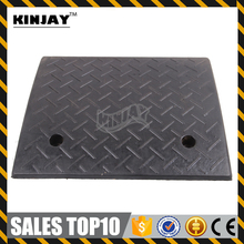 Durable 110mm Black Rubber Horse Trailer Ramp Cable Ramp Portable Car Ramp