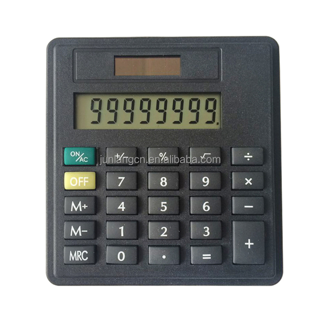 8 Digits Mini Calculator with Dual Power Portfolio Calculator