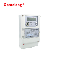 Quality Assurance Programmable Smart PLC energy Meter / energy monitoring system