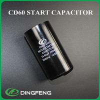 single phase capacitor start motor 1.5kw 220v and compressor start capacitor