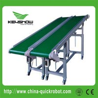 Belt conveyor with high rigidity alloy aluminum structure beam