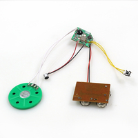 electronic module for music box in doll