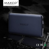 Fast Charge 8000mAh Portable Mobile Power Bank, Extra Battery Power with CE, FCC, RoHS