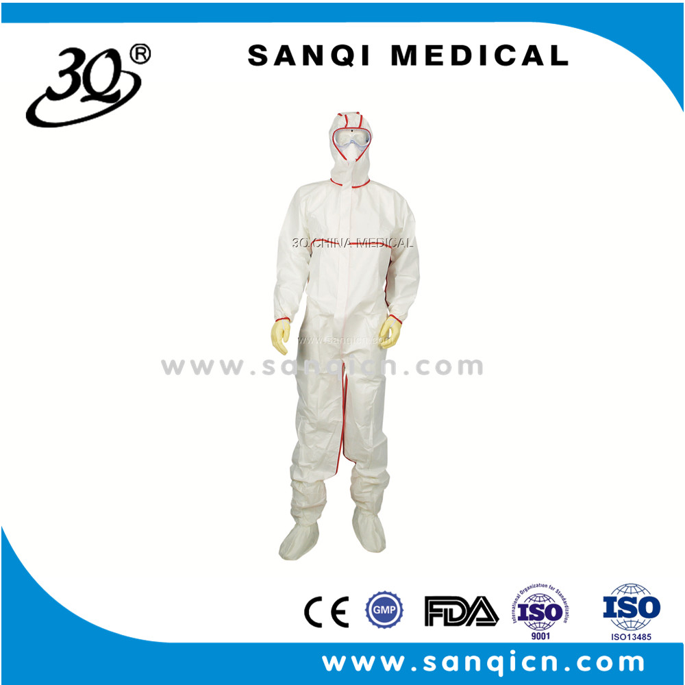 disposable surgical protective clothing /gown with new design